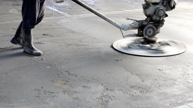 コンクリート研磨機 - コンクリート点の映像素材/bロール