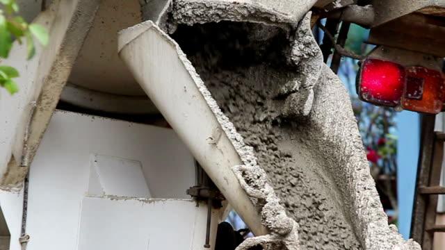 Concrete pouring.