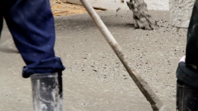 concrete pouring. - suit of armor stock videos and b-roll footage