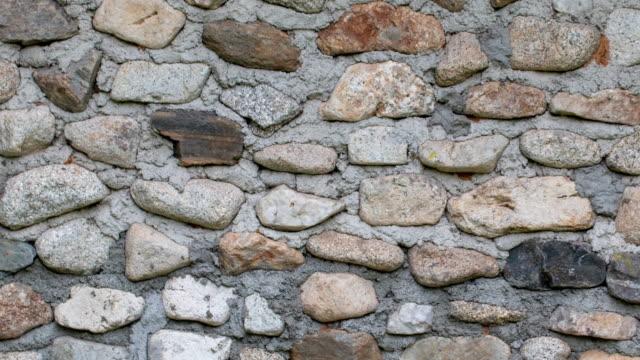 vídeos de stock, filmes e b-roll de textura de concreta - muro