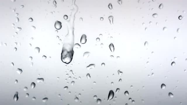 hd: condensation on the glass - raindrop stock videos & royalty-free footage