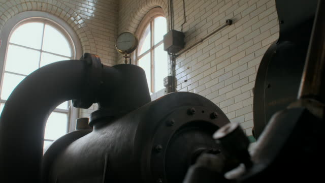 a condenser in a victorian textile mill - 19th century style stock videos & royalty-free footage