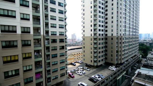 condo residences - kommunalt bostadsområde bildbanksvideor och videomaterial från bakom kulisserna