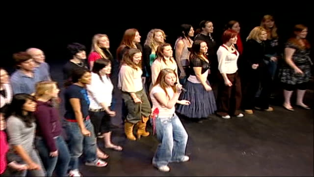 condoleezza rice visit to blackburn; liverpool institute of performing arts: int top shot choir singing sot top shot rice and straw clapping along... - choir stock videos & royalty-free footage