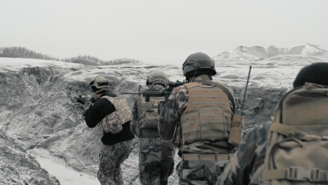 conducting a special operation - army stock videos & royalty-free footage
