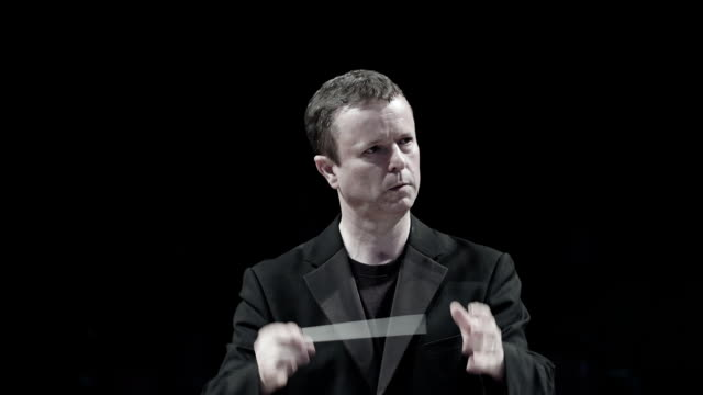 conductor at work during a concert - conductor stock videos & royalty-free footage