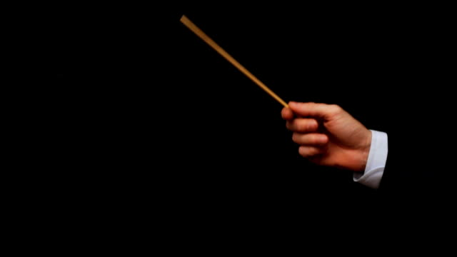 conductor hand - conductor stock videos & royalty-free footage