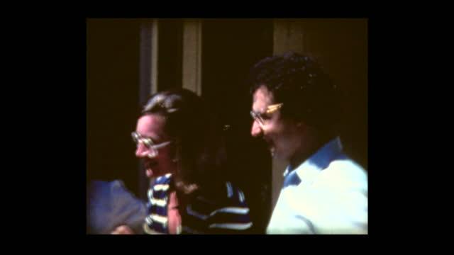 1981 conductor semyon bychkov at daughter's christening - michigan stock videos & royalty-free footage