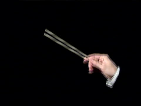 conductor's arm - slow - conductor stock videos & royalty-free footage