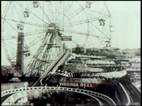 coney island, u.s.a. - 7 of 19 - coney island stock-videos und b-roll-filmmaterial
