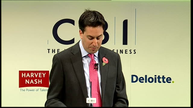 ed miliband speech ed miliband speech continued sot secondly we should learn the lessons of the financial crisis that we need to fundamentally reform... - humility stock videos and b-roll footage