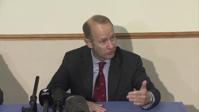 Henry Bolton press conference ENGLAND Devon Torquay INT Henry Bolton press conference SOT re being antiestablishment / postBrexit vision