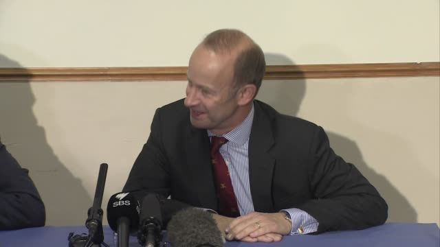 Henry Bolton press conference Henry Bolton press conference SOT re immigration / gender