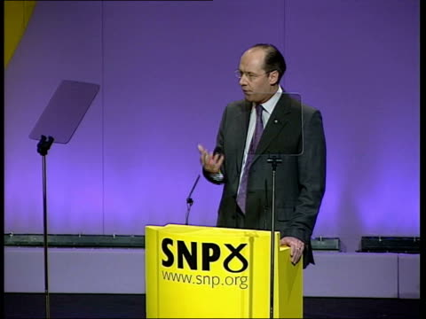 john swinney speech itn inverness int john swinney msp speech sot in the face of global change people countries need a voice to raise hope inspire /... - scottish national party stock videos & royalty-free footage