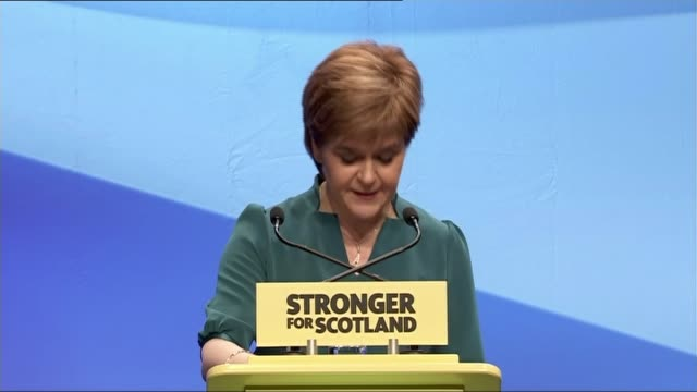 Nicola Sturgeon speech SCOTLAND Aberdeen INT Nicola Sturgeon MSP speech SOT If there is strong and consistent evidence that people have changed their...