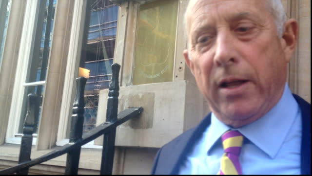 nigel farage speech / godfrey bloom controversy bloom filmed on a mobile phone - conference phone stock videos & royalty-free footage