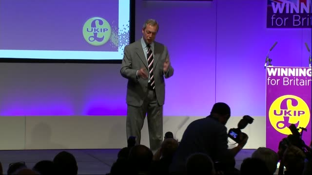 Nigel Farage speech Nigel Farage MEP speech SOT