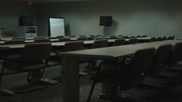 ws ds conference room, dallas, texas, usa - dolly shot stock videos & royalty-free footage
