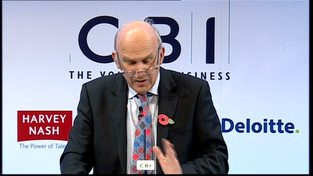 Vince Cable speech Vince Cable speech continued SOT And it is possible to identify sectors where Britain has developed a competitive advantage in...