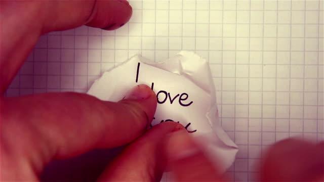 confession 愛の手紙 - 懺悔点の映像素材/bロール