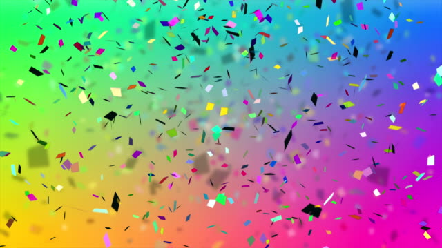 4k confetti explosion - anniversary stock videos & royalty-free footage