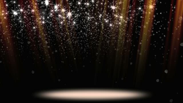 vídeos de stock, filmes e b-roll de confete glitter destaque loop - arte, cultura e espetáculo