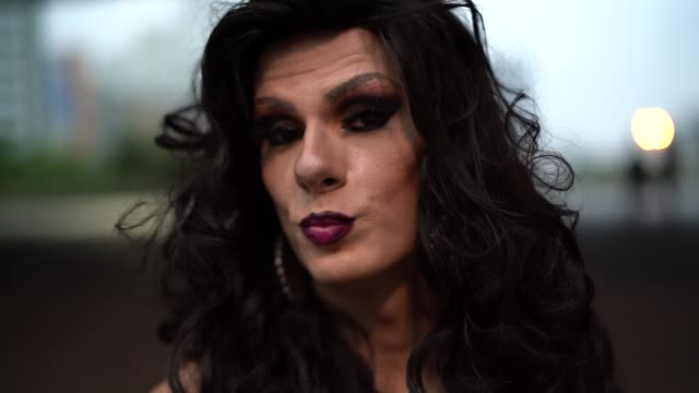confident drag queen - drag queen stock videos and b-roll footage