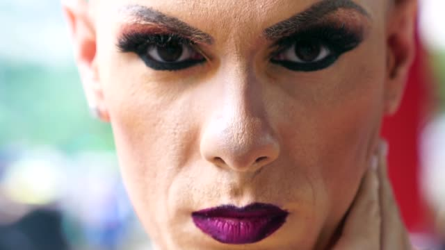 confident gay boy - my life is my choice - drag queen stock videos and b-roll footage