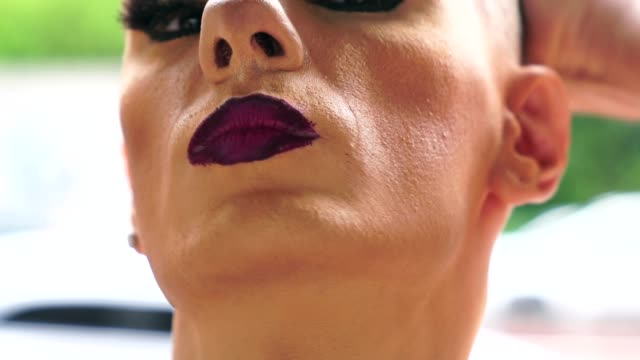 confident gay boy - drag queen stock videos and b-roll footage
