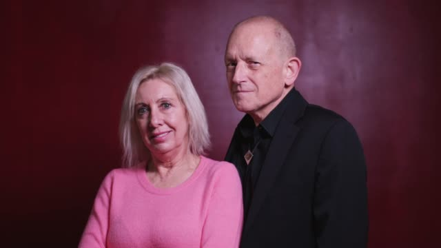 confident senior couple posing for camera - video portrait stock videos & royalty-free footage