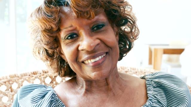 confident senior woman - widow stock videos & royalty-free footage