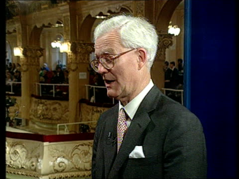 conflict: aftermath of violence; england: lancashire: blackpool cms douglas hurd mp intvwd sot - state of emergency in russia is justified / yeltsin... - boris yeltsin stock videos & royalty-free footage