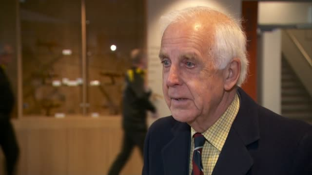 cabinet agrees 'on the need to take action' in syria england int air chief marshal sir michael graydon interview sot dr karin von hippel setup shots... - ラゲ オマール点の映像素材/bロール
