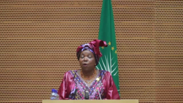 conflict in central african republic and south sudan dominates the agenda as africa's leaders gathered thursday for a twoday summit of the... - corno d'africa video stock e b–roll