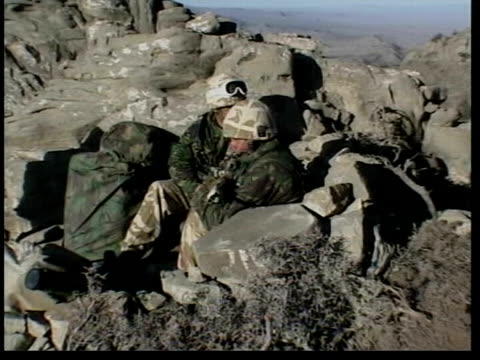 mystery illness affecting british troops identified lib british soldiers sitting in mountain trench soldier cleaning equipment la ms soldiers in... - army soldier stock videos & royalty-free footage