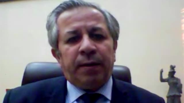 Palmyra recaptured by Islamic State forces LOCATION Professor Maamoun Abdulkarim interview SOT