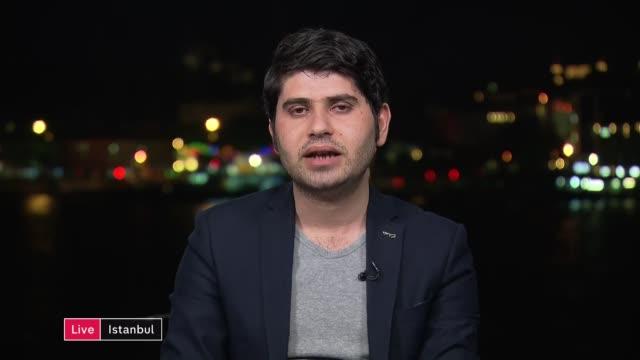 Raqqa airstrikes may have been war crimes says Amnesty ENGLAND London GIR INT Marwan Hisham 2 WAY interview from Istanbul SOT