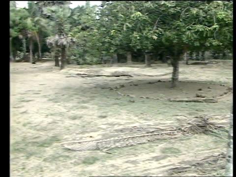 tamil tigers offering fierce resistance to indian troops in the jaffna peninsula sri lanka jaffna peninsular command centre int cms tamil tiger... - umgeben stock-videos und b-roll-filmmaterial