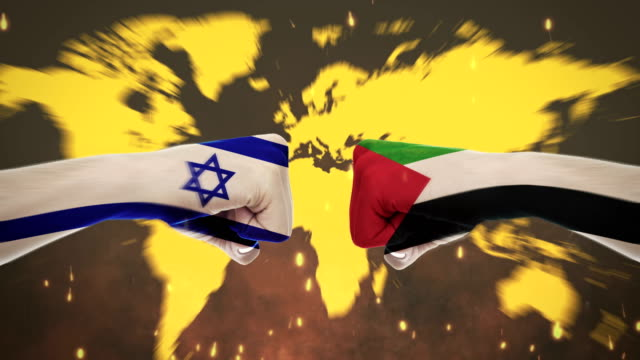 4k conflicts between countries - palestine and syria - green screen - palestinian flag stock videos & royalty-free footage
