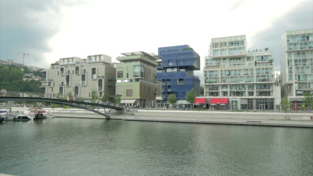 Confluence, Lyon, modern architecture, River Apartments,PAN WS