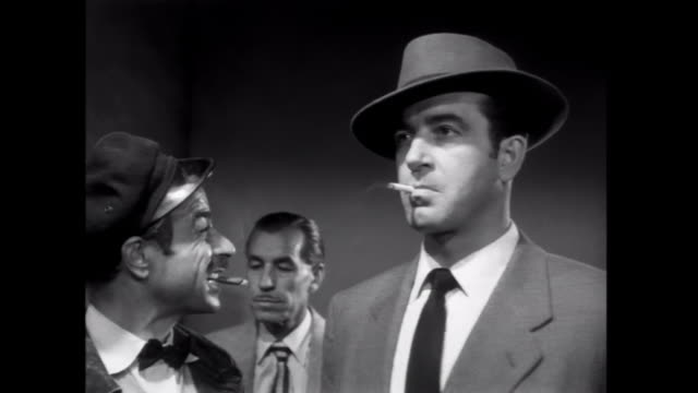 1952 A confrontation occurs when a gambler leaves the table