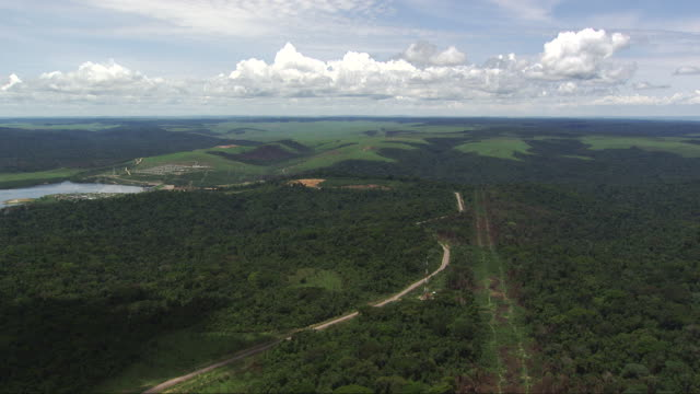 Congo: Imboulo hydroelectric dam from far