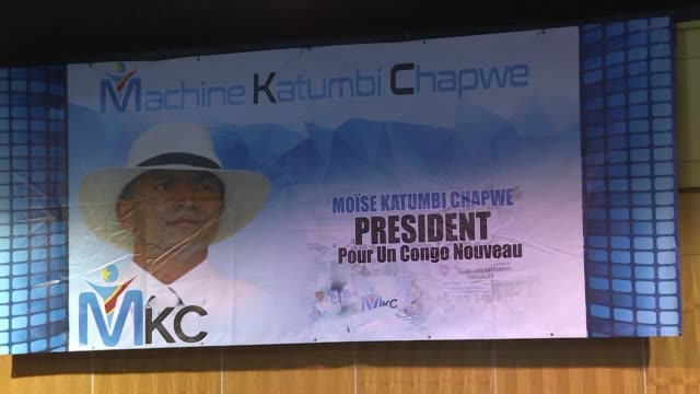 DR Congo's exiled opposition leader Moise Katumbi launches his political movement in Johannesburg in a bid to replace president Joseph Kabila in...