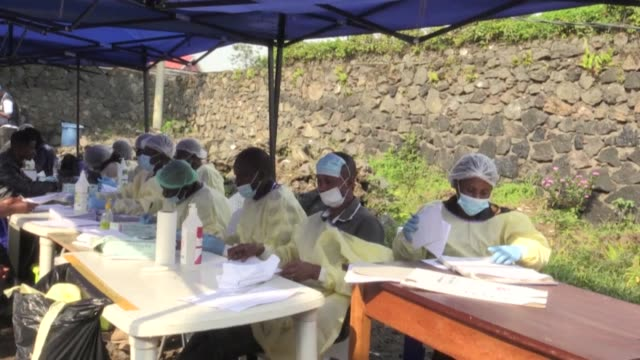 congo's government has officially declared an end to the ebola epidemic that broke out in the east of the troubled country in august 2018, going on... - epidemic stock videos & royalty-free footage