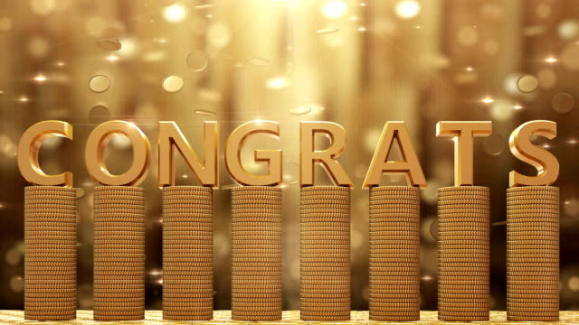 congrats - congratulating stock videos and b-roll footage