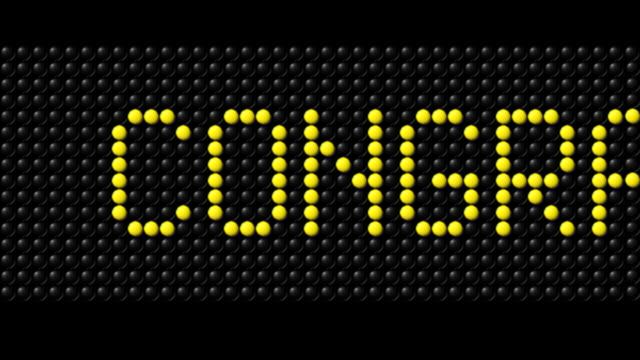 congratuilations! - multi-format progressive - congratulating stock videos and b-roll footage