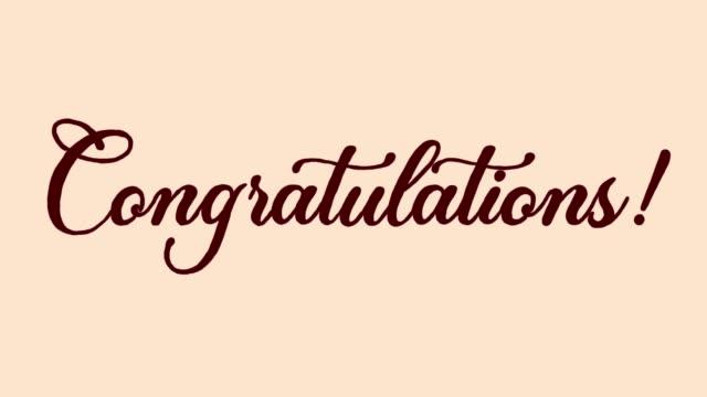 congratulations! - congratulating stock videos & royalty-free footage