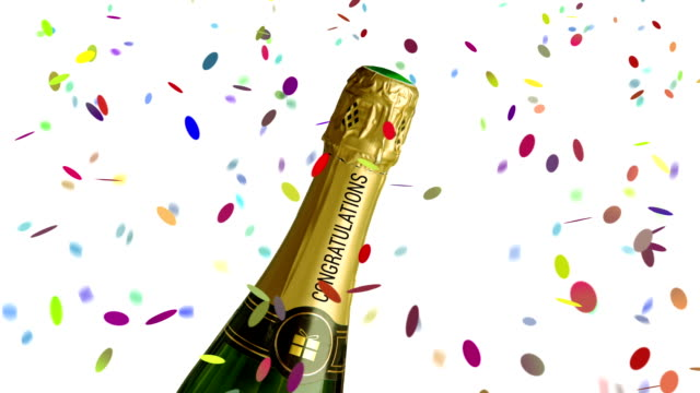 congratulations - champagne stock videos and b-roll footage