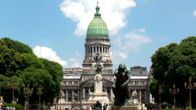 congreso - buenos aires, argentina - buenos aires stock videos and b-roll footage