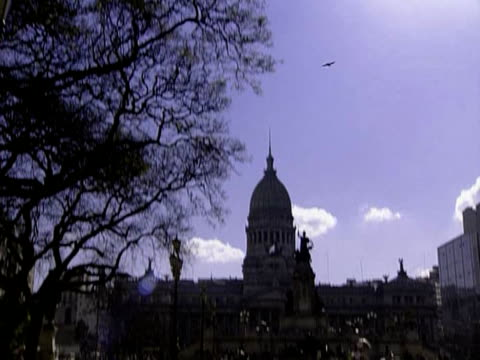 congresso in buenos aires - buenos aires province stock videos & royalty-free footage